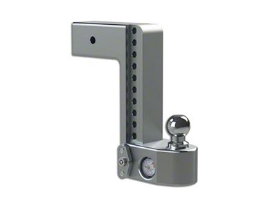 Weigh Safe 3 in. Receiver Hitch Adjustable Ball Mount w/ Built-In Scale - 10 in. Drop Hitch (99-18 Silverado 1500)