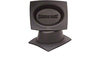 Boom Mat Speaker Baffles - 6x8 in. Oval Slim (07-18 Silverado 1500)