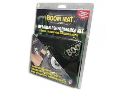 Boom Mat Speaker Performance Kit (07-18 Silverado 1500)