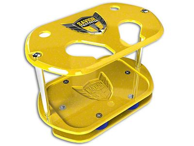 Savior Show Case for Optima 34 Batteries - Yellow Sparkle (07-18 Silverado 1500)