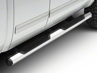 Barricade Octa Side Step Bars - Chrome (07-13 Silverado 1500 Extended Cab, Crew Cab)