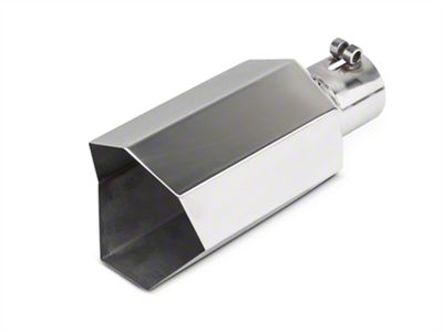 Barricade 5 in. Big Mouth Exhaust Tip - Polished - 2.75 in. Connection (99-18 Silverado 1500)
