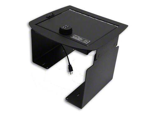 Lock'er Down Economy Console Safe (07-13 Silverado 1500 w/ Bucket Seats)