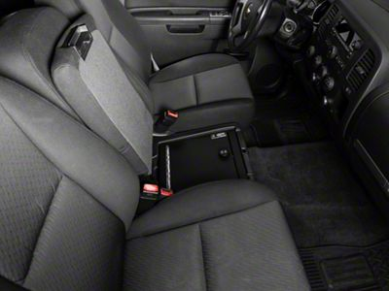 Lock'er Down Console Safe (07-13 Silverado 1500 w/ Bench Seat)