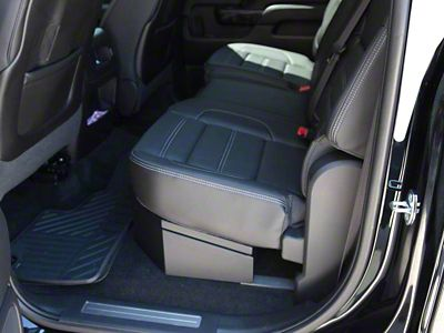 Lock'er Down SUVault Under Seat Long Gun Safe (07-18 Silverado 1500 Crew Cab)