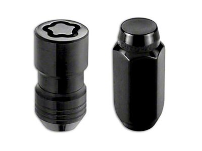 McGard Black 6-Lug Wheel Installation Lug Nut Kit - 14mm x 1.5 in. (99-18 Silverado 1500)