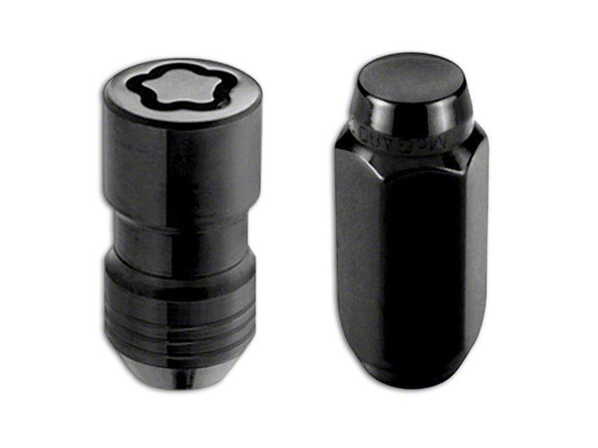 McGard Black 6-Lug Wheel Installation Lug Nut Kit - 14mm x 1.5 (99-19 Silverado 1500)