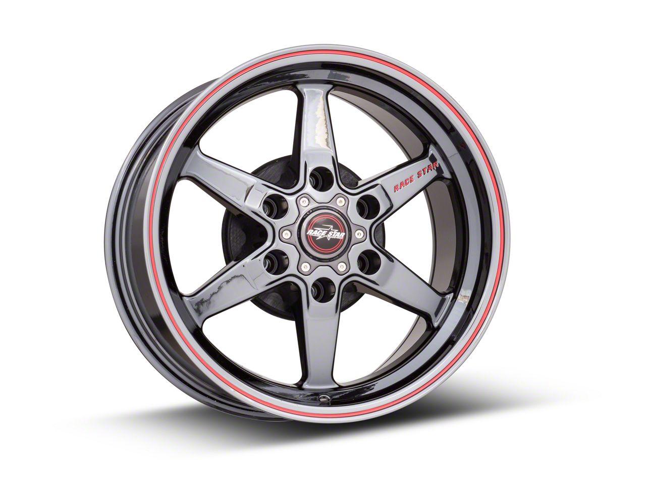 Race Star 93 Truck Star Black Chrome 6-Lug Wheel - 17x9.5 (99-18 Silverado 1500)