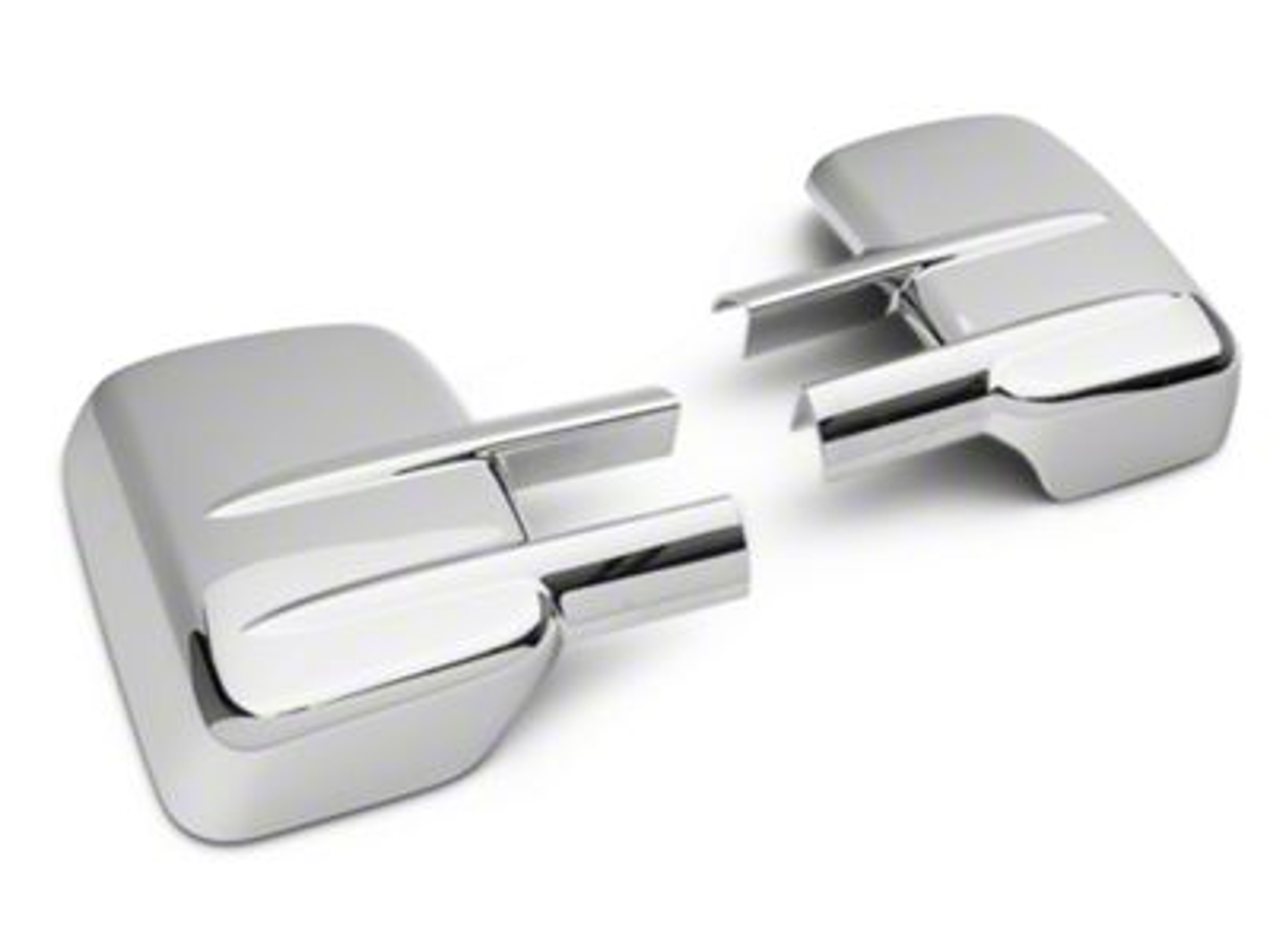 SpeedForm Chrome Towing Mirror Covers w/ Telescopic Option (07-15 Silverado 1500)