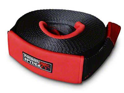 Poison Spyder 3 in. x 30 ft. Recovery Strap - 24,250 lbs.