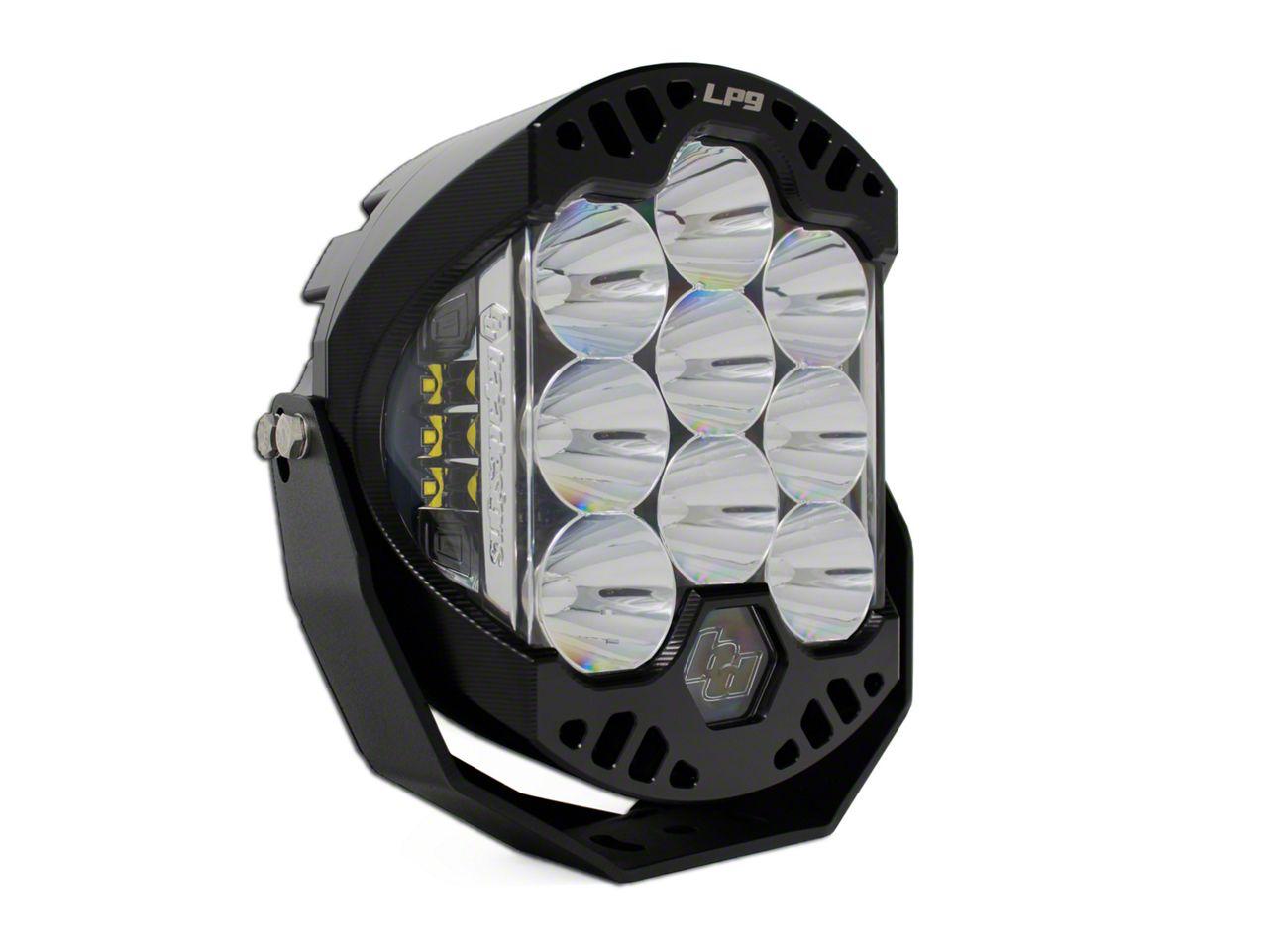 Baja Designs 8 in. LP9 Round LED Light - Driving/Combo Beam