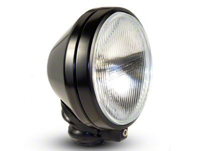 Delta 6 in. 500 Series Round Black Long Range Xenon Light