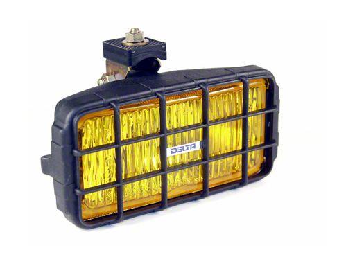 Delta 7x3.5 in. 250 Series Rectangular Amber Fog Lights - Pair