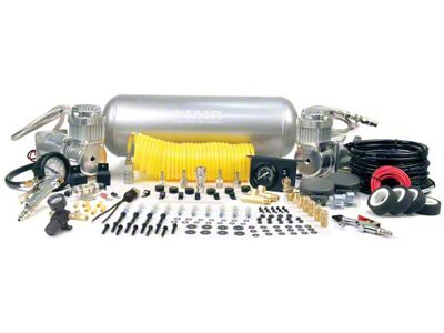 Viair Super Duty Onboard Air System (99-18 Silverado 1500)
