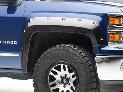 Bushwacker Pocket Style Fender Flares - Pre-Painted (14-18 Silverado 1500)