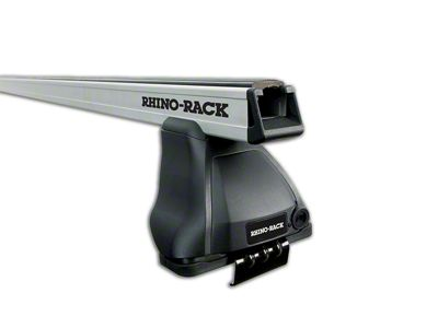 Rhino-Rack Heavy Duty 2500 2-Bar Roof Rack - Silver (14-18 Silverado 1500 Double Cab, Crew Cab)