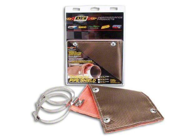 DEI Titanium Pipe Shield (99-18 Silverado 1500)