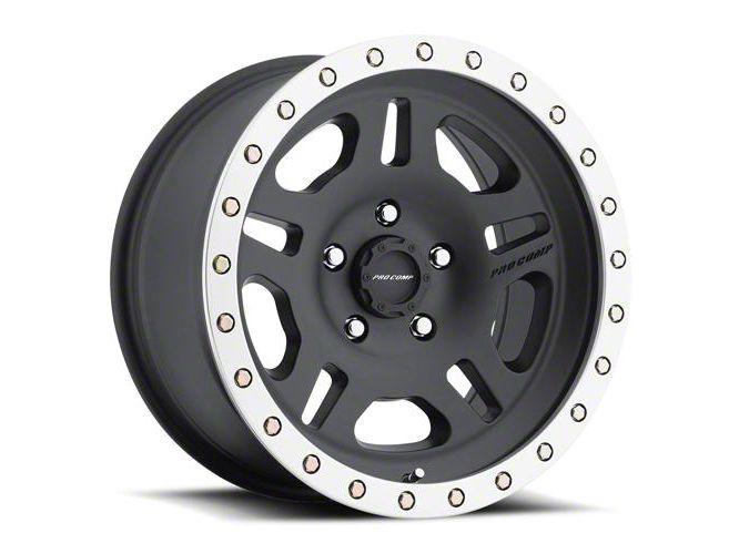 Pro Comp La Paz Satin Black Machined 6-Lug Wheel - 17x8.5 (99-18 Silverado 1500)