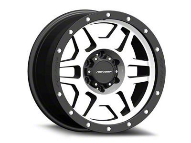 Pro Comp Phaser Machined 6-Lug Wheel - 17x9 (99-18 Silverado 1500)