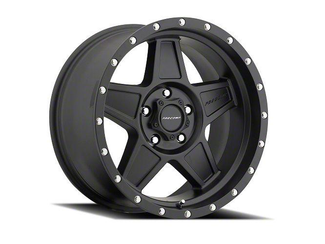 Pro Comp Predator Satin Black 6-Lug Wheel - 17x8.5 (99-18 Silverado 1500)