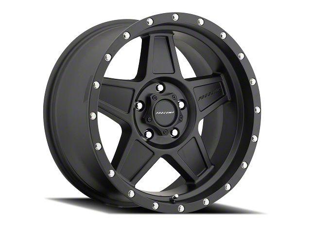 Pro Comp Predator Satin Black 6-Lug Wheel - 18x9 (99-18 Silverado 1500)
