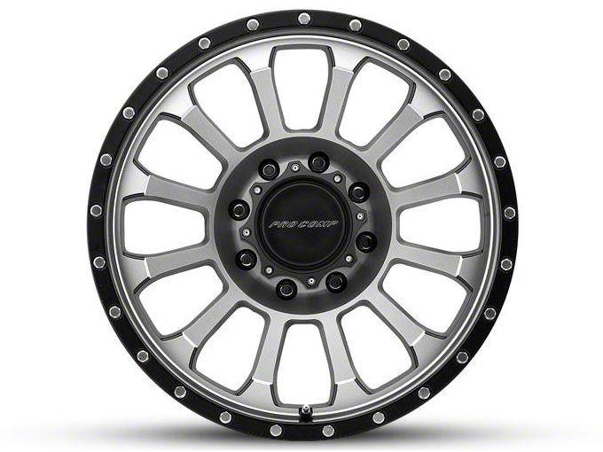 Pro Comp Rockwell Machined 6-Lug Wheel - 20x9 (99-18 Silverado 1500)