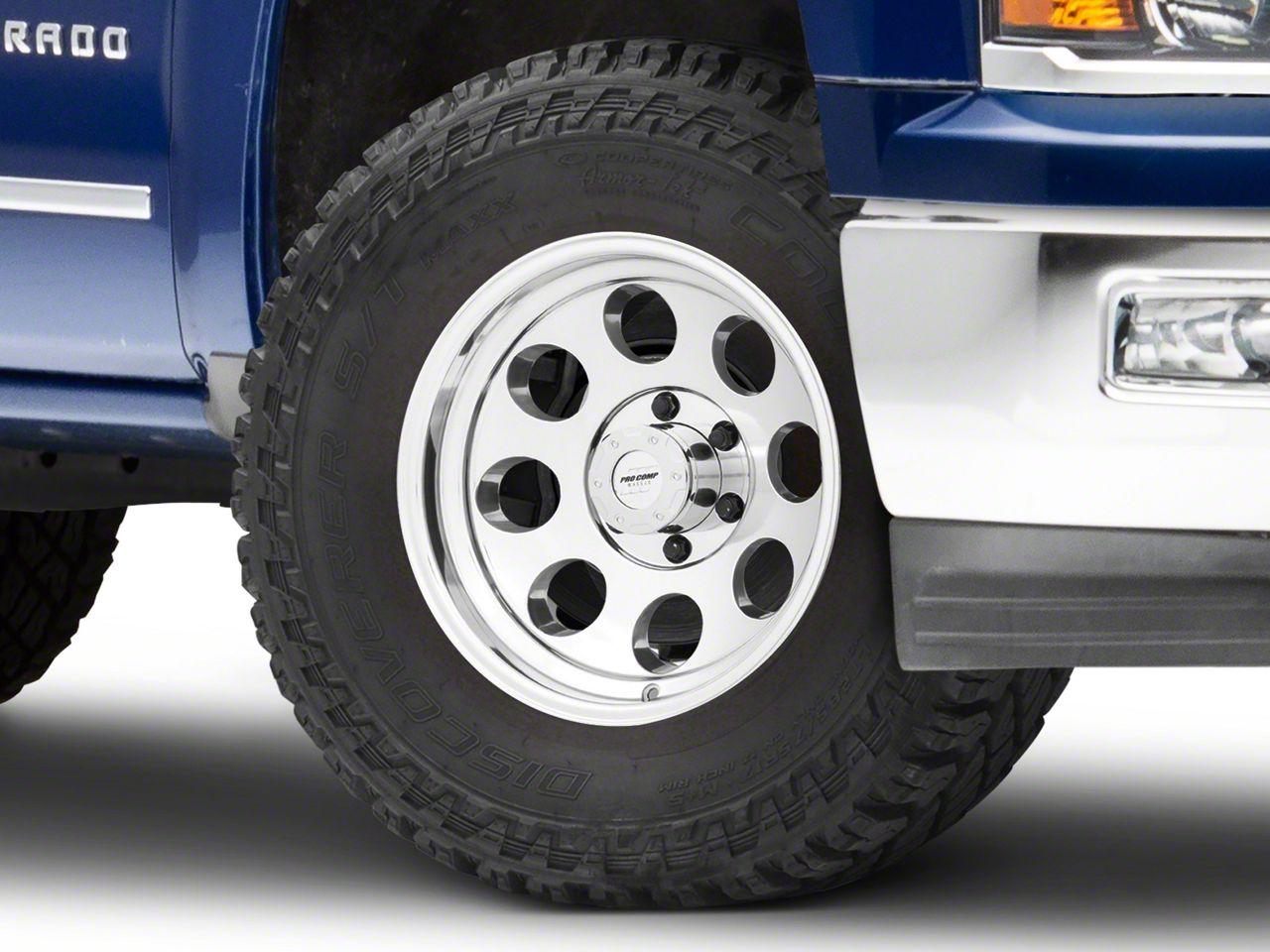 Pro Comp Series 1069 Polished 6-Lug Wheel - 17x9 (99-18 Silverado 1500)