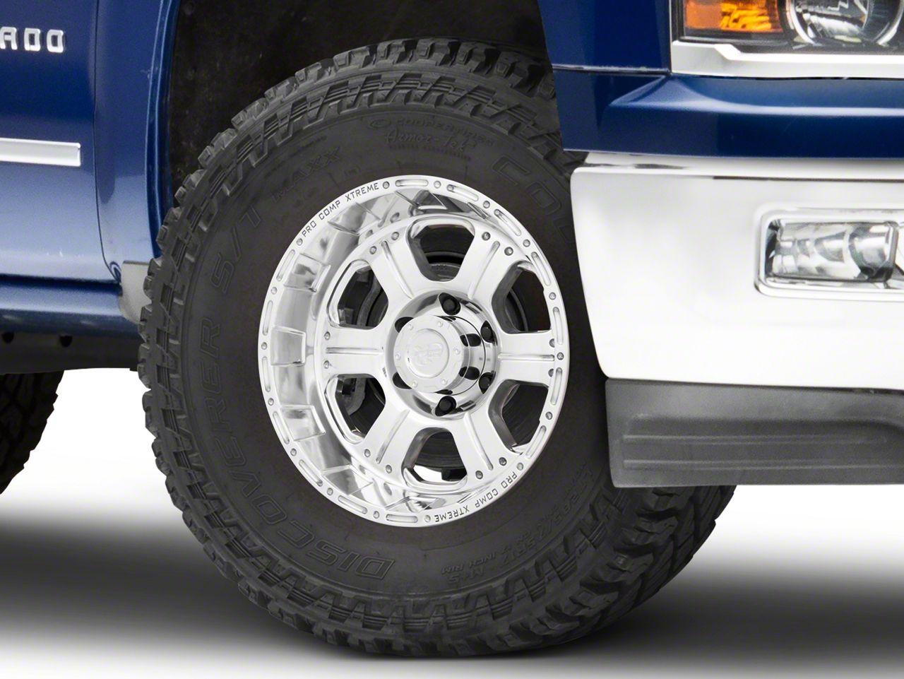 Pro Comp Series 1089 Polished 6-Lug Wheel - 17x9 (99-18 Silverado 1500)