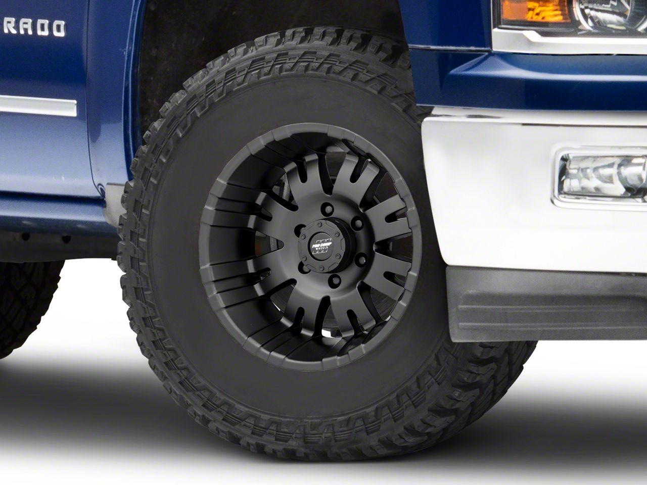 Pro Comp Series 5001 Satin Black 6-Lug Wheel - 17x8 (99-18 Silverado 1500)