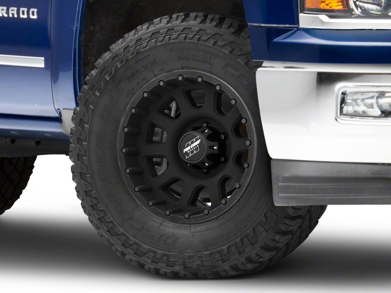 Pro Comp Series 7032 Matte Black 6-Lug Wheel - 18x9 (99-18 Silverado 1500)