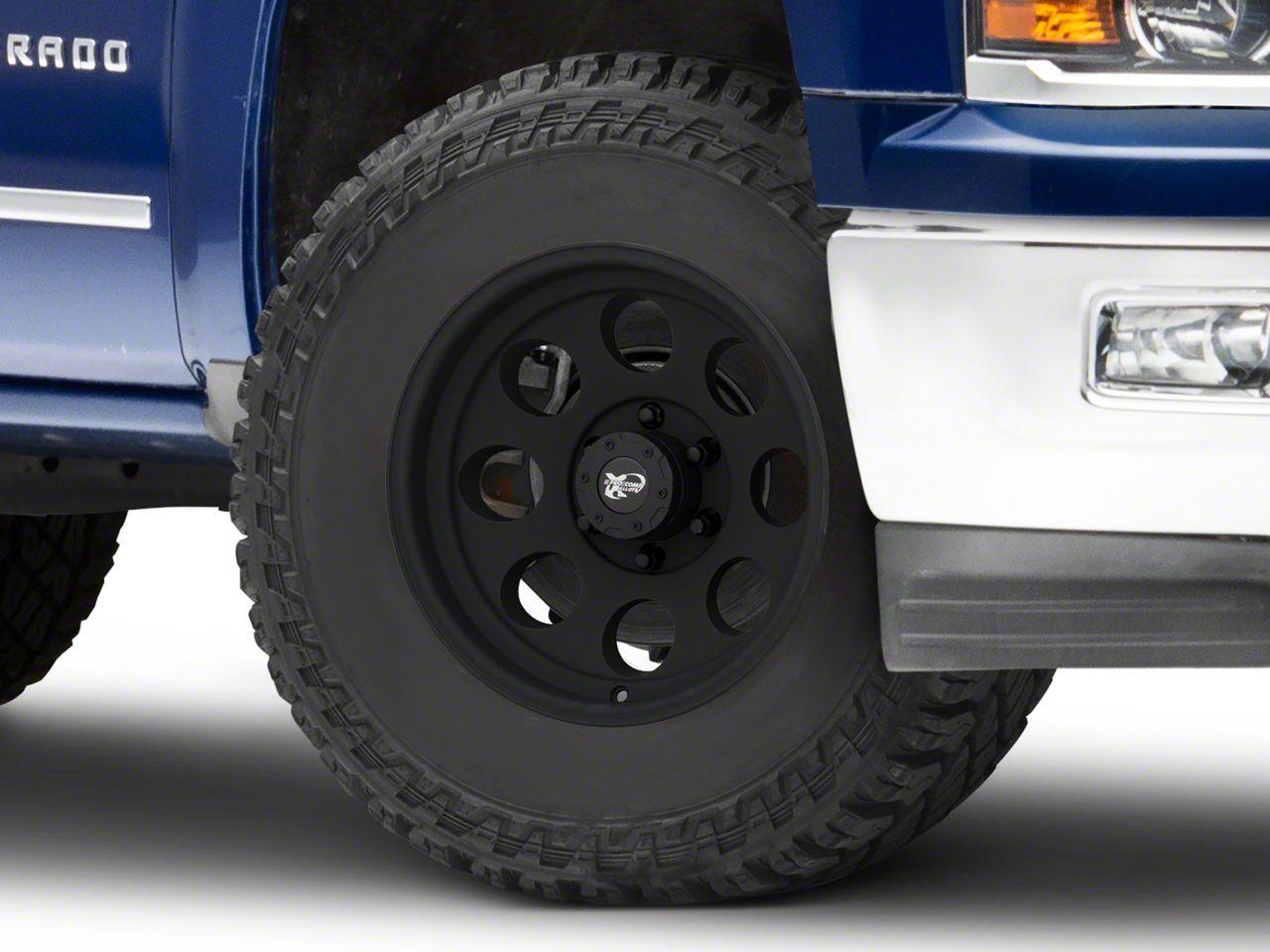 Pro Comp Series 7069 Matte Black 6-Lug Wheel - 17x9 (99-18 Silverado 1500)