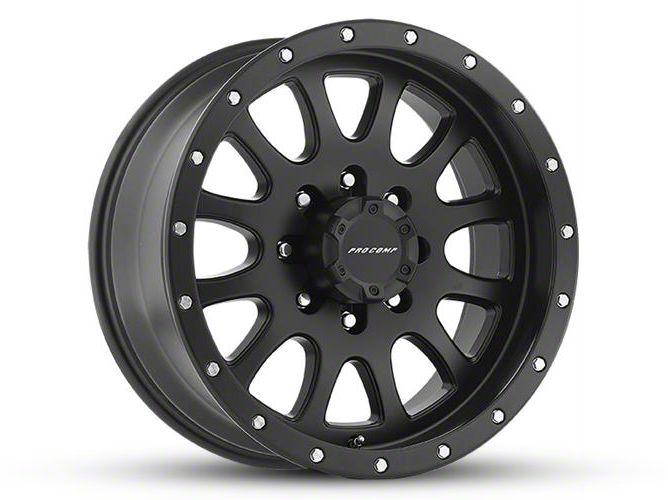 Pro Comp Syndrome Satin Black 6-Lug Wheel - 17x9 (99-18 Silverado 1500)