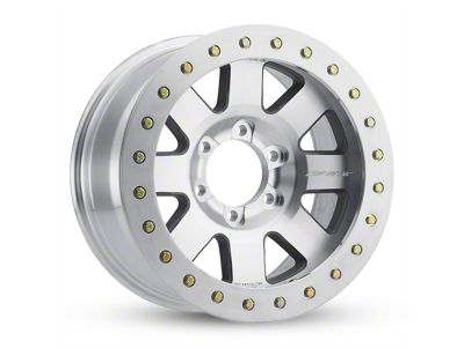 Pro Comp Vapor Pro II Machined 6-Lug Wheel - 17x9 (99-18 Silverado 1500)