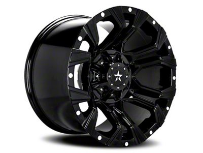 RBP 64R Widow Full Black 6-Lug Wheel - 20x12 (99-18 Silverado 1500)