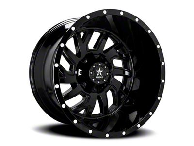 RBP 65R Glock Full Black 6-Lug Wheel - 20x12 (99-18 Silverado 1500)