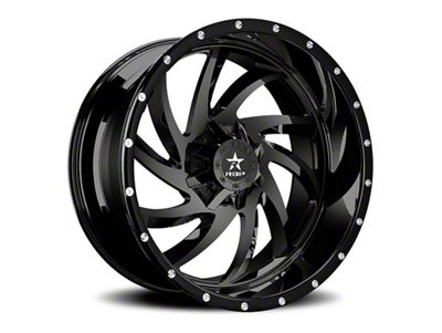 RBP 66R HK-5 Gloss Black 6-Lug Wheel - 20x12 (99-18 Silverado 1500)