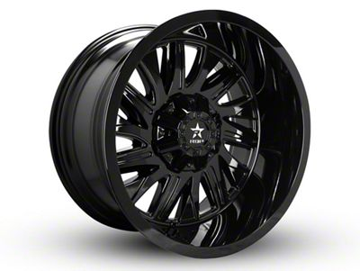 RBP 75R Batallion Gloss Black 6-Lug Wheel - 22x12 (99-18 Silverado 1500)