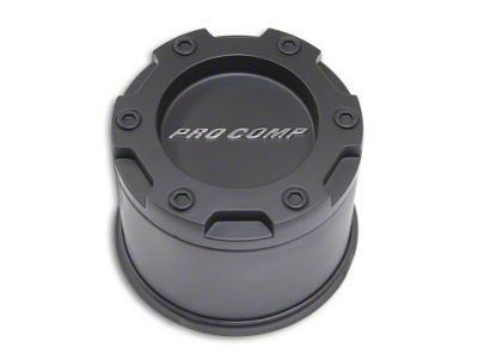 Pro Comp Wheels Series 29 Push Thru Satin Black Center Cap (99-18 Silverado 1500)