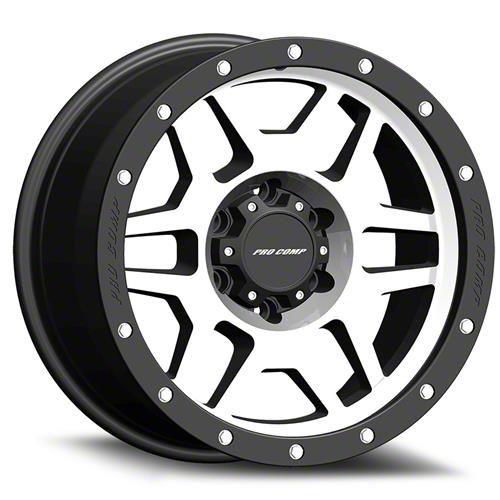 Pro Comp Phaser Machined 6-Lug Wheel - 18x9 (99-18 Silverado 1500)