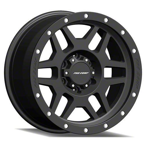 Pro Comp Wheels Phaser Satin Black 6-Lug Wheel - 20x9 (99-19 Silverado 1500)
