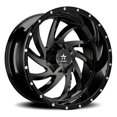 RBP 66R HK-5 Gloss Black 6-Lug Wheel - 20x9 (99-18 Silverado 1500)