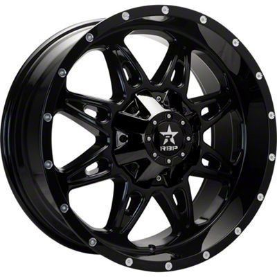 RBP 67R AK-8 Gloss Black 6-Lug Wheel - 20x9 (99-18 Silverado 1500)