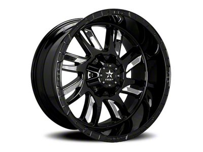 RBP 69R Swat Black w/ Chrome Inserts 6-Lug Wheel - 20x10 (99-18 Silverado 1500)