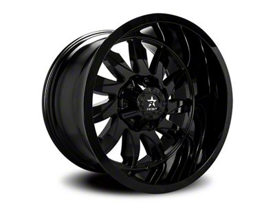 RBP 74R Silencer Gloss Black 6-Lug Wheel - 20x10 (99-18 Silverado 1500)