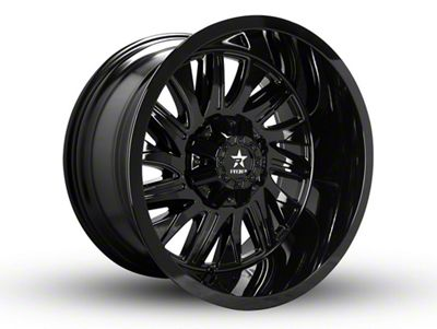 RBP 75R Batallion Gloss Black 6-Lug Wheel - 20x9 (99-18 Silverado 1500)