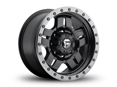 Fuel Wheels ANZA Matte Black 6-Lug Wheel - 18x9 (99-18 Silverado 1500)