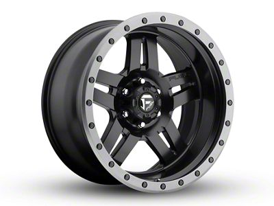 Fuel Wheels Anza Matte Black 6-Lug Wheel - 20x10 (99-19 Silverado 1500)