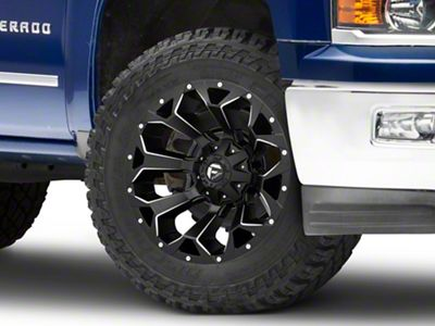 Fuel Wheels Assault Black Milled 6-Lug Wheel - 20x10 (99-19 Silverado 1500)