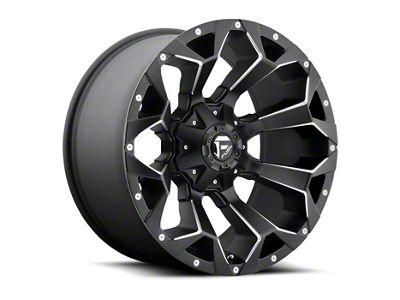 Fuel Wheels Assault Black Milled 6-Lug Wheel - 22x10 (99-18 Silverado 1500)