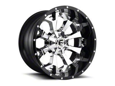 Fuel Wheels Assault Matte Black Milled 6-Lug Wheel - 20x12 (99-19 Silverado 1500)